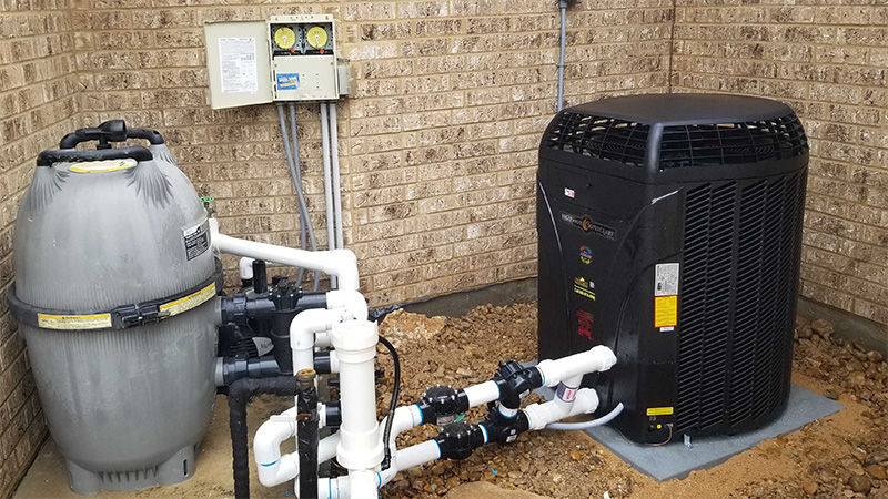 The Pool Boys Heat Pump and Chiller Installation