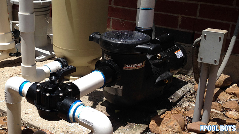During a hard freeze, you should leave your pool pump running