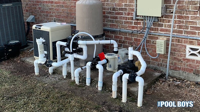 Pentair VSF Pump install from The Pool Boys in League City, TX