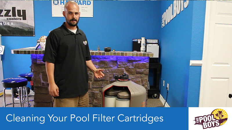 Cleaning Your Pool Filter Cartridges