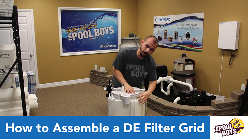 How to Assemble a DE Filter Grid
