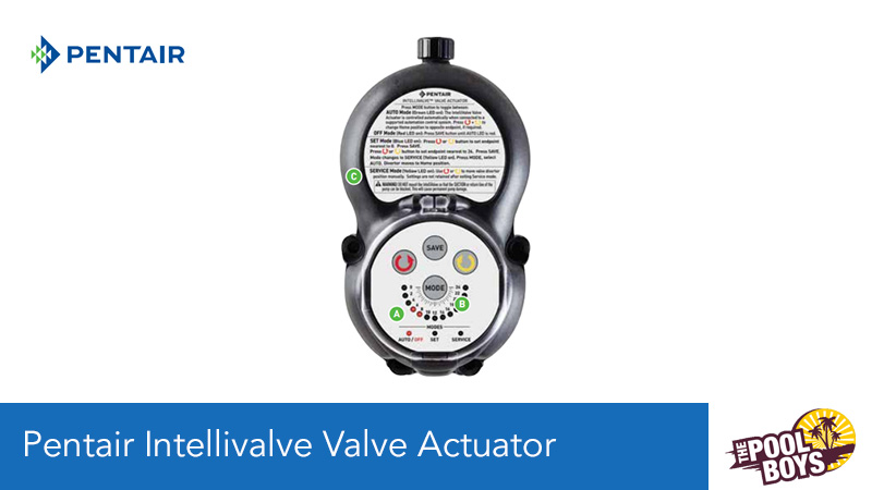 Pentair Intellivalve Valve Actuator